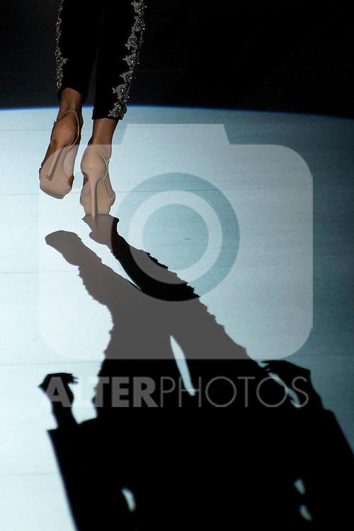 02.09.2012. Models walk the runway in the Juana Martin fashion show during the Mercedes-Benz Fashion Week Madrid Spring/Summer 2013 at Ifema. (Alterphotos/Marta Gonzalez)