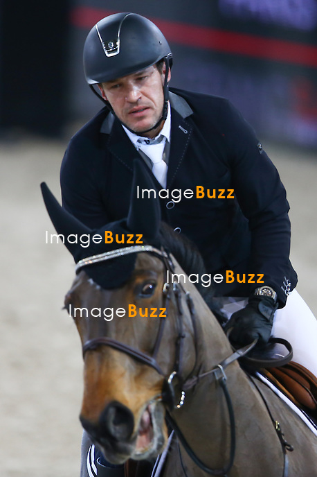 Benjamin Castaldi during Masters Grand Slam competition, the Gucci Paris Masters 2014 at Paris Nord Villepinte on December 4, 2014 in Paris, France
