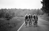 race leaders over the Hautes Fagnes Plateau<br /> <br /> stage 4: Hotel Verviers - La Gileppe (187km)<br /> 29th Ster ZLM Tour 2015