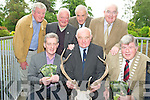Pictured at the launch of theKerry Deer Society brochure in The Malton Hotel, Killarney on Saturday were Padraig O'Sullivan, Noel Grimes, Cllr Sean Counihan, mayor of Killarney, James O'Connor, Michael Leane, Dan Kellihera nd Paul Coghlan.................................................................