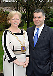 Mary MacMonagle, The Malton Hotel, Killarney who was elected President of SKAL, Killarney pictured with her husband Massimo Mirabile at the SKAL agm in the Killarney Park Hotel this week..Skal is a professional organisation of tourism leaders around the world, promoting global tourism and friendship. It is the only international group uniting all branches of the travel and tourism industry. Its members, the industry's managers and executives, meet at local, national, regional and international levels to discuss and pursue topics of common interest..Picture by Don MacMonagle...PR PHOTO FROM SKAL