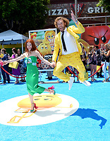TJ Miller &amp; Kate Gorney at the world premiere for &quot;The Emoji Movie&quot; at the Regency Village Theatre, Westwood. Los Angeles, USA 23 July  2017<br /> Picture: Paul Smith/Featureflash/SilverHub 0208 004 5359 sales@silverhubmedia.com