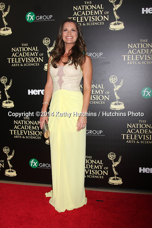 LOS ANGELES - JUN 22:  Melissa Clare Egan at the 2014 Daytime Emmy Awards Arrivals at the Beverly Hilton Hotel on June 22, 2014 in Beverly Hills, CA
