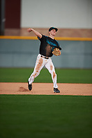 Ryan Witt (12) of Monroe High School in Monroe, Washington during the Under Armour All-American Pre-Season Tournament presented by Baseball Factory on January 14, 2017 at Sloan Park in Mesa, Arizona.  (Mike Janes/MJP/Four Seam Images)