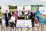 The Launch of Recovery Haven Night at the Dogs fundraising night at the Kingdom Greyhound Stadium on Saturday 29th September. Pictured front l-r Brendan O'Brien, Recovery Haven, Christopher Boyle, back l-r Maeve Collins, Ballyroe Heights Hotel, Susan Keating, Manor Filling Station and Shop, Kenneth Reynolds, Recovery Haven, Jane Boyle, Ashe Hotel, Noel Scanlon, Dairymaster, Tim Kelliher, Kellihers Toyota, Declan Dowling, Kingdom Greyhound Stadium, Maureen O'Brien (Recovery haven), Tom O'Connor, Kellihers Toyota, Michelle Diggins, Ballygary House Hotel, Christa McAuliffe, Recovery haven