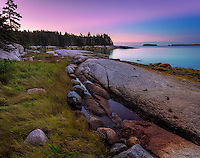 Deer Isle, Maine: Dawn on Jericho Bay
