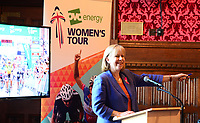Picture by SWpix.com - 07/03/2018 - Cycling - 2018 OVO Energy Women's Tour Launch - Westminster, London, England -<br /> Ruth Cadbury MP