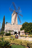 Spanien, Mallorca, Santa Maria del Cami: Restaurant Moli des Torrent | Spain, Mallorca, Santa Maria del Cami: Restaurant Moli des Torrent