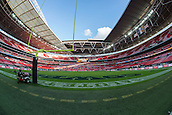 09.11.2014.  London, England.  NFL International Series. Jacksonville Jaguars versus Dallas Cowboys.  General view of Wembley Stadium with the seats decorated with poppies.
