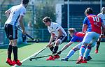 AMSTELVEEN - Jan-Willem Buissant (Adam)    tijdens  de hoofdklasse competitiewedstrijd hockey heren,  Amsterdam-SCHC (3-1).  COPYRIGHT KOEN SUYK