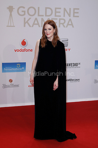 Julianne Moore attending the Goldene Kamera awards held at Messehallen, Hamburg, Germany, 06.02.2016. <br /> Photo by Christopher Tamcke/insight media /MediaPunch ***FOR USA ONLY***