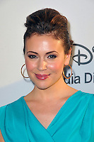 Alyssa Milano at the Disney Media Networks International Upfronts at Walt Disney Studios on May 20, 2012 in Burbank, California. ©mpi35/MediaPunch Inc.