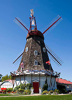 A Windmill imported from Denmark in the town of Elk Horn, Iowa.