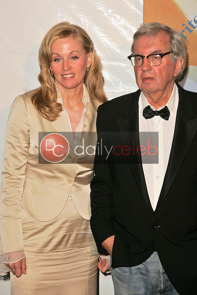 Diana Ossana and Larry McMurtry<br />