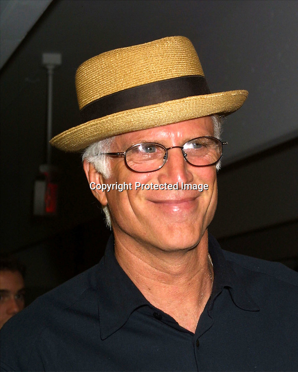 ©2003 KATHY HUTCHINS  / HUTCHINS PHOTO AGENCY.CBS Television Critics Tour Summer 2003 Party.Hollywood & Highland .Lucky Strike Bowling Alley.Hollywood, CA.July 20, 2003..Ted Danson