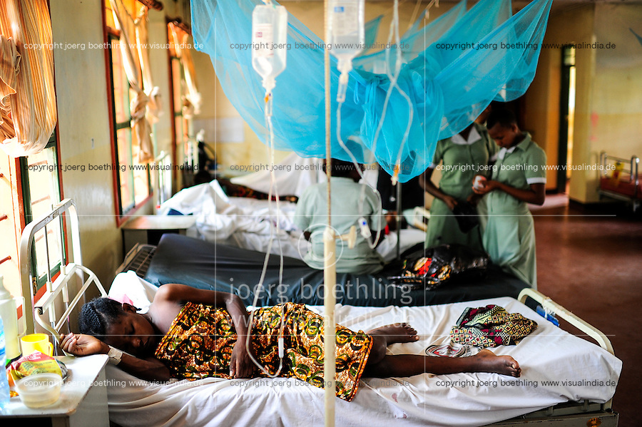TANZANIA, Korogwe, village Kwalukonge, KWALUKONGE HEALTH CENTRE / TANSANIA, Korogwe, KWALUKONGE HEALTH CENTRE, Krankenhaus der Rosminian Fathers und Usambara Sisters in Kwalukonge