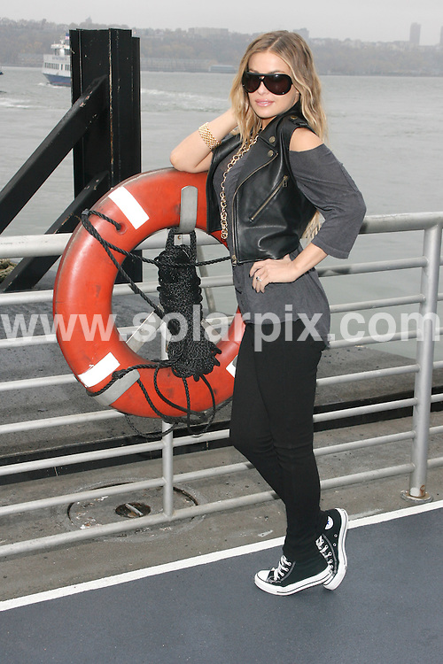 "**ALL ROUND PICTURES FROM SOLARPIX.COM**.**SYNDICATION RIGHTS FOR UK, SPAIN, PORTUGAL, AUSTRALIA, S.AFRICA & DUBAI (U.A.E) ONLY**.Carmen Electra at the 2nd Annual ""A Salute to Our Troops"" with a Coast Guard Tour of New York Harbour,  Presented by Microsoft and the U.S.O. Pier 79, West 39th Street and 12th Avenue, New York City, NY, USA. 8th November 2008..This pic: Carmen Electra..JOB REF: 7834 PHZ (Gaboury)   DATE: 08_11_2008 .**MUST CREDIT SOLARPIX.COM OR DOUBLE FEE WILL BE CHARGED* *UNDER NO CIRCUMSTANCES IS THIS IMAGE TO BE REPRODUCED FOR ANY ONLINE EDITION WITHOUT PRIOR PERMISSION*"