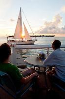 Sunset at Mallory Square, Key West, Florida, USA. Photo by Debi Pittman Wilkey