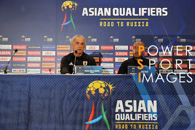 Pre-Match Press Conference and Training Session of Japan and Saudi Arabia prior to the 2018 FIFA World Cup Russia Asian Qualifiers Final Qualification Round Group B match at Saitama Stadium 2002 on 14 November 2016, in Saitama, Japan. Photo by Kenta Harada / Lagardere Sports