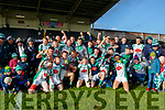 Na Gaeil team celebrate  after defeating Mullinahone in the Munster Junior Championship final on Sunday