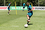 09.01.2019, Trainingsgelaende Randburg Football Club, Johannesburg, RSA, TL Werder Bremen Johannesburg Tag 07<br /> <br /> im Bild / picture shows <br /> <br /> Jean Manuel Mbom (Werder Bremen #34)<br /> <br /> Foto © nordphoto / Kokenge