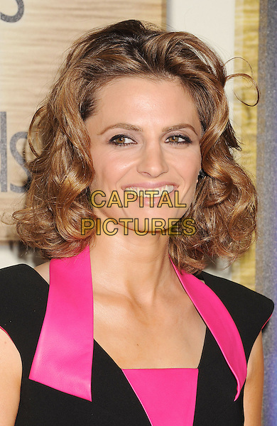 LOS ANGELES, CA- FEBRUARY 01: Actress/model Stana Katic arrives at the 2014 Writers Guild Awards L.A. Ceremony at JW Marriott Los Angeles at L.A. LIVE on February 1, 2014 in Los Angeles, California.<br /> CAP/ROT/TM<br /> &copy;Tony Michaels/Roth Stock/Capital Pictures