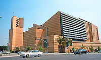Los Angeles: The Cathedral of Our Lady of the Angels, Jose Rafael Moneo, 2002. (Taken from Grand Avenue)Photo '04.