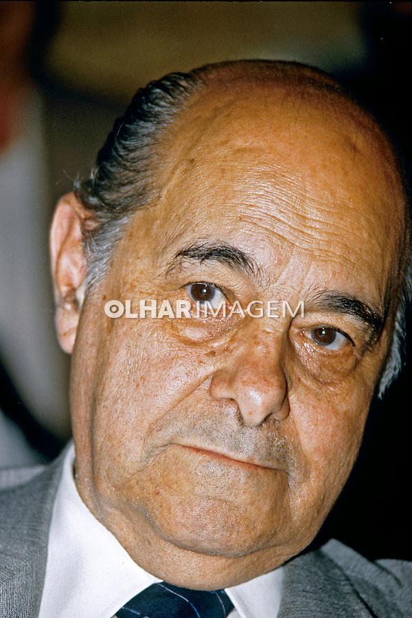 Politico. Presidente Tancredo Neves. SP. 1984. Foto de Juca Martins.