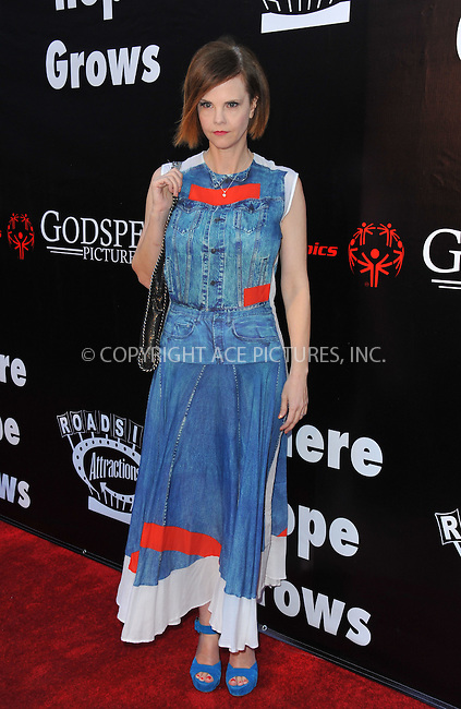 WWW.ACEPIXS.COM<br /> <br /> May 4 2015, LA<br /> <br /> Kiersten Warren arriving at the Los Angeles premiere of 'Where Hope Grows' at the ArcLight Cinema on May 4, 2015 in Hollywood, California.<br /> <br /> By Line: Peter West/ACE Pictures<br /> <br /> <br /> ACE Pictures, Inc.<br /> tel: 646 769 0430<br /> Email: info@acepixs.com<br /> www.acepixs.com