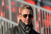 Toronto, ON, Canada - Friday Dec. 09, 2016: Taylor Twellman during training prior to MLS Cup at BMO Field.