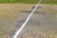 The pitch at the start of Day 4 of the Second International Cricket Test match, New Zealand V England, Hagley Oval, Christchurch, New Zealand, 2nd April 2018.Copyright photo: John Davidson / www.photosport.nz