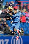 Getafe CF's Damian Suarez during La Liga match. February 09,2019. (ALTERPHOTOS/Alconada)