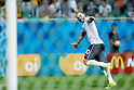 Karim Benzema (FRA), JUNE 20, 2014 - Football /Soccer : Karim Benzema of France celebrates scoring his side fourth goal during the FIFA World Cup Brazil 2014 Group E match between Switzerland 2-5 France at Arena Fonte Nova, Salvador, Brazil. (Photo by D.Nakashima/AFLO)