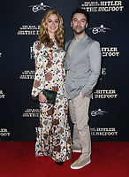 """04 February 2019 - Hollywood, California - Caitlyn Fitzgerald, Aidan Turner. """"The Man Who Killed Hitler and Then the Bigfoot"""" Los Angeles Premiere held at Arclight Hollywood. Photo Credit: Birdie Thompson/AdMedia"""