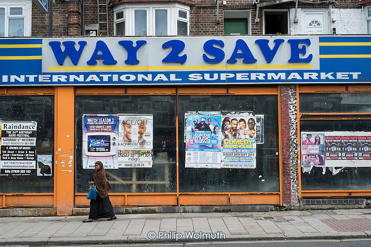 Closed shop, West Hendon, London.