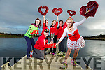 Launch the Valentines 10 Mile Run on Sunday 12th February starting at the Tralee Wetlands were Marilyn O'Shea, Danny O'Shea, Niamh Abeyta, Cilla Beer  Catherine Costello and Kirstie McTrusty