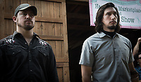 Logan Lucky (2017) <br /> Channing Tatum &amp; Adam Driver<br /> *Filmstill - Editorial Use Only*<br /> CAP/KFS<br /> Image supplied by Capital Pictures