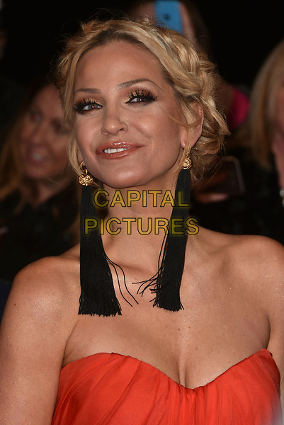 Sarah Harding attending the National Television Awards 2018 at The O2 Arena on January 23, 2018 in London, England. <br /> CAP/Phil Loftus<br /> &copy;Phil Loftus/Capital Pictures