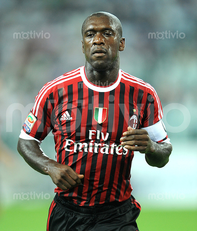 FUSSBALL INTERNATIONAL   SERIE A   SAISON 2011/2012    Juventus Turin - AC Mailand  02.10.2011 Clarence Seedorf (AC Mailand)