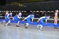 SCHAATSEN: HEERENVEEN: 25-06-2014, IJsstadion Thialf, Zomerijs training, ©foto Martin de Jong