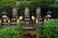 Buddhist temple with stone sculptures, Mitakidera, Hiroshima, Japan