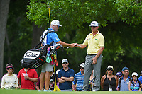 Charley Hoffman (USA) looks over his putt on 2 during round 4 of the 2019 Charles Schwab Challenge, Colonial Country Club, Ft. Worth, Texas,  USA. 5/26/2019.<br /> Picture: Golffile | Ken Murray<br /> <br /> All photo usage must carry mandatory copyright credit (© Golffile | Ken Murray)