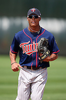March 18, 2010:  Outfielder Angel Morales (31) of the Minnesota Twins organization during Spring Training at the Ft. Myers Training Complex in Ft. Myers, FL.  Photo By Mike Janes/Four Seam Images