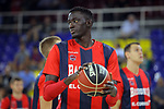 League ACB-ENDESA 2017/2018. Game: 1.<br /> FC Barcelona Lassa vs Baskonia: 87-82.<br /> Ilimane Diop.