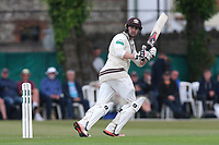 Mark Stoneman hits four runs for Surrey during Surrey CCC vs Essex CCC, Specsavers County Championship Division 1 Cricket at Guildford CC, The Sports Ground on 9th June 2017