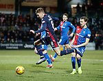 11.02.2019: Ross County v Inverness CT: Jamie Lindsay and Tom Walsh