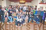 18TH BIRTHDAY: John Horgan, Mounthawk, Tralee (seated 7th left) enjoying a great time celebrating his 18th birthday with a very large group of family and friends at the Mitchel's clubhouse on Saturday.