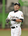 Ichiro Suzuki (Marlins),<br /> APRIL 8, 2015 - MLB :<br /> Ichiro Suzuki of the Miami Marlins before the Major League Baseball game against the Atlanta Braves at Marlins Park in Miami, Florida, United States. (Photo by AFLO)