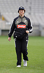 Dr Deb Robinson at All Blacks training. Auckland, Wednesday 22 August 2007.