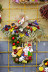 Stock photo of a Ukrainian souvenir made from natural ingredients Foods flowers plants Vertical